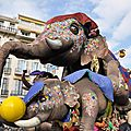 Carnaval de Nice - du 17 Fevrier au 4 Mars 2012