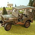 Jeep willys. gate. 1/18