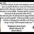 Avis : stéphanie jean-louis - [rebel bikers] - t1 - rebel bikers