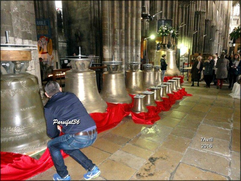 cloches cathédrale Rouen 3