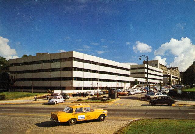 ulb batiment H 1970
