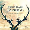 Quand tombe la neige, de richard collingridge, chez albin michel jeunesse ***