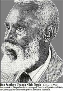Santiago Uganda precursor de l'independence