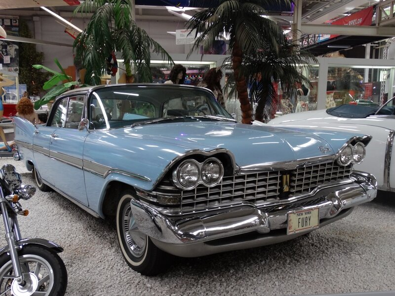 PLYMOUTH Fury 4door hardtop 1959 Sinsheim (1)