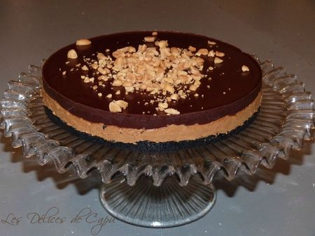 Chocolate oreo peanut butter pie3