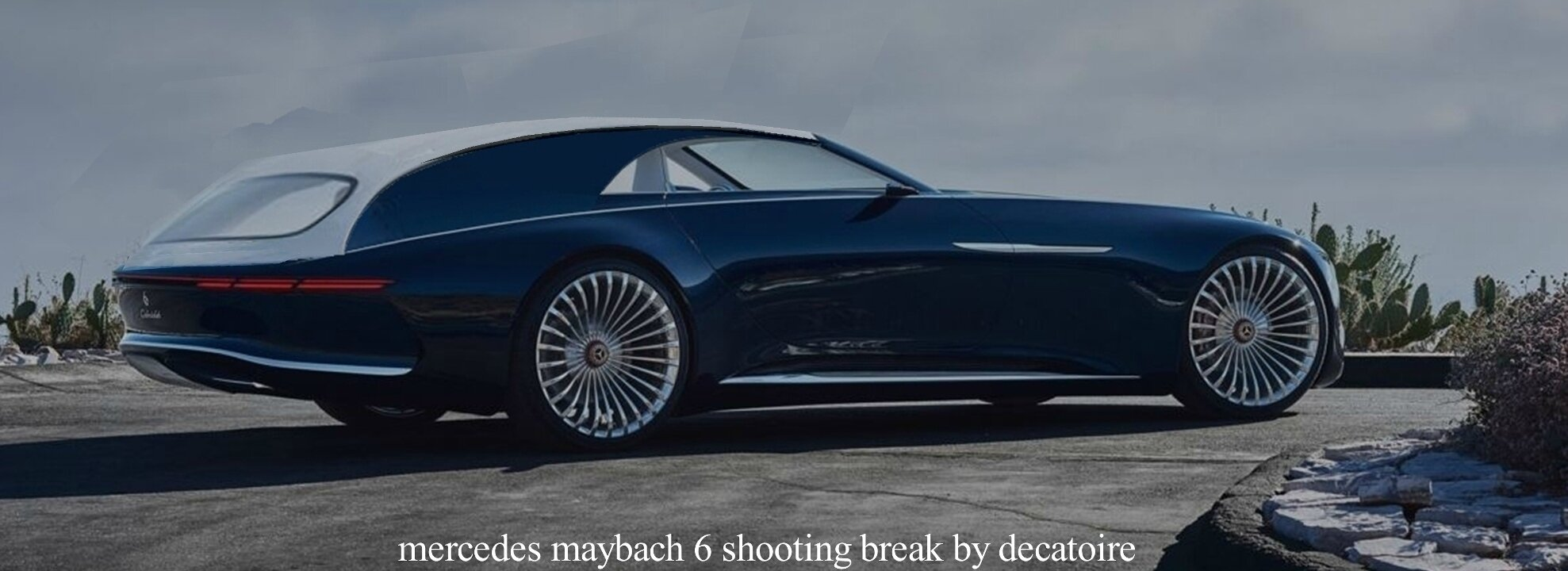 Mercedes-Maybach 6 shooting break
