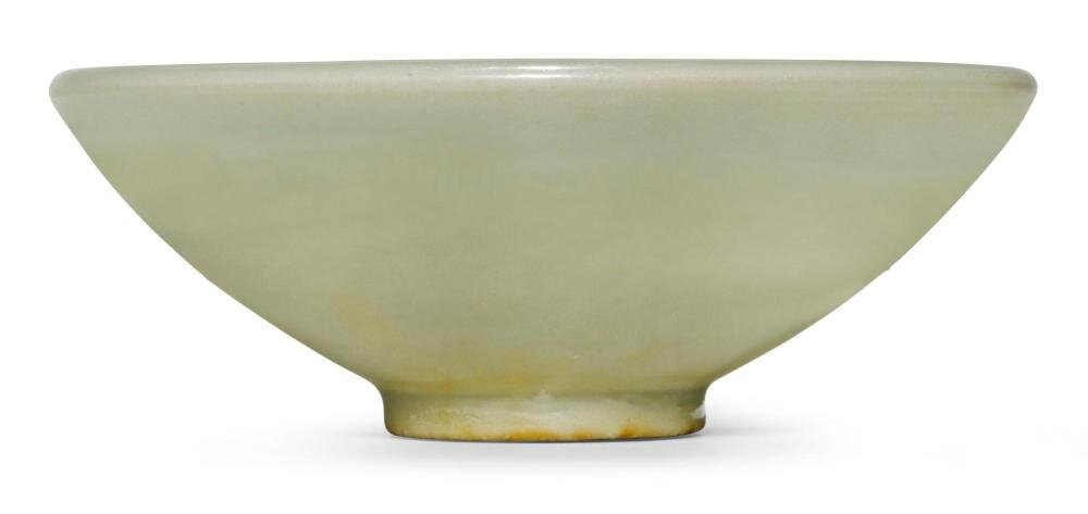 A 'Yaozhou' 'Moon white' bowl, Jin dynasty (1115-1234)