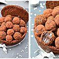 Pain d'épices surprise et ses truffes