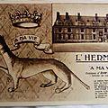 01 Blois - le chateau - l'emblème d'Anne de Bretagne