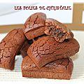 Mini-financiers chocolat vanille ( thermomix)