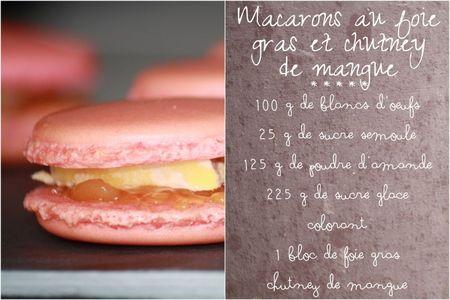 Macarons foie gras chutney3
