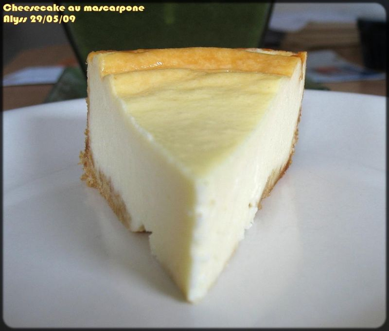 Cheesecake Fromage Blanc Mascarpone Delices D Alyss