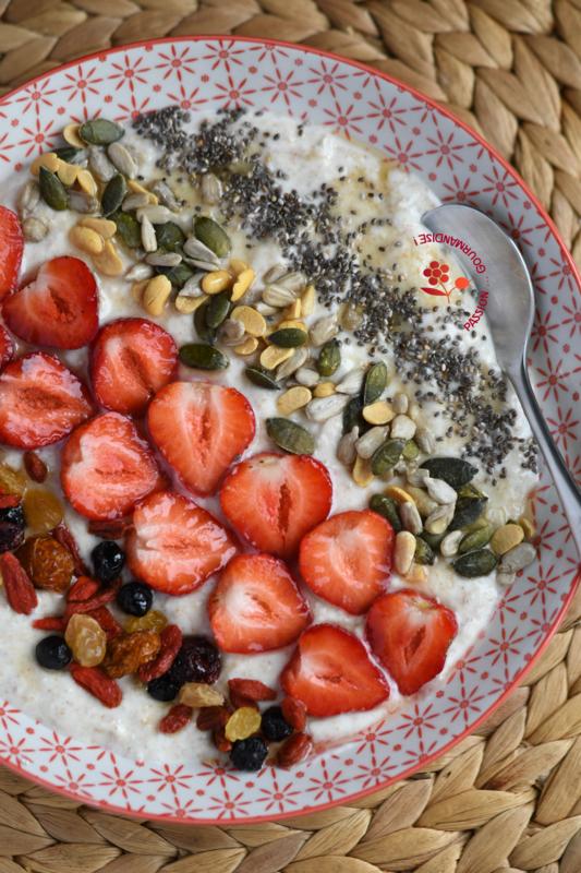 Crème Budwig fraises, superfruits & graines_6