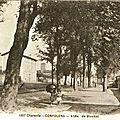 1917-01-05 Confolens allée de Blossac