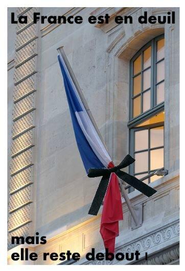 drapeau deuil