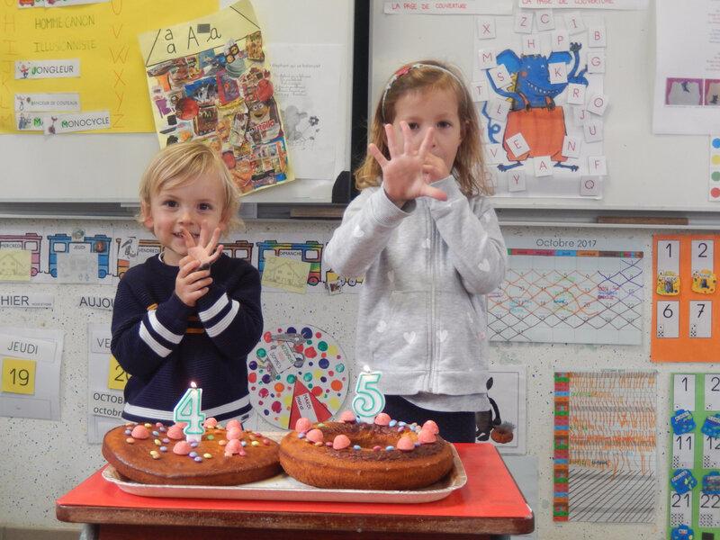 Atelier cuisine pour les anniversaires du mois d octobre - Atelier cuisine maternelle ...