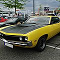 Ford torino gt fastback hardtop coupe, 1970