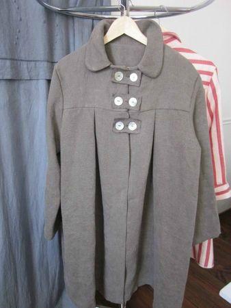 manteau d'été en lin brun (1)