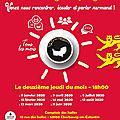 Cherbourg: 12 mars 2020, nouveau café normand pour prêcher en normand...