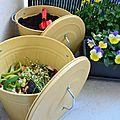 Recyclage, compost et autres poubelles