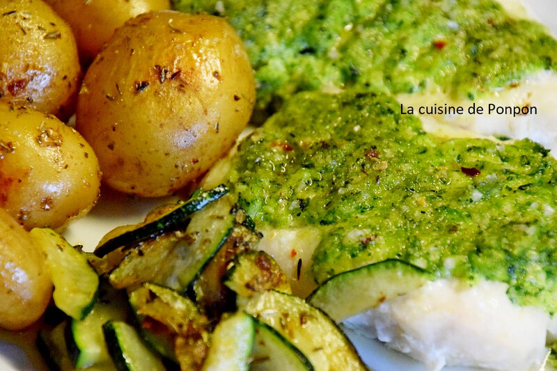 cabillaud et pesto courgette (12)