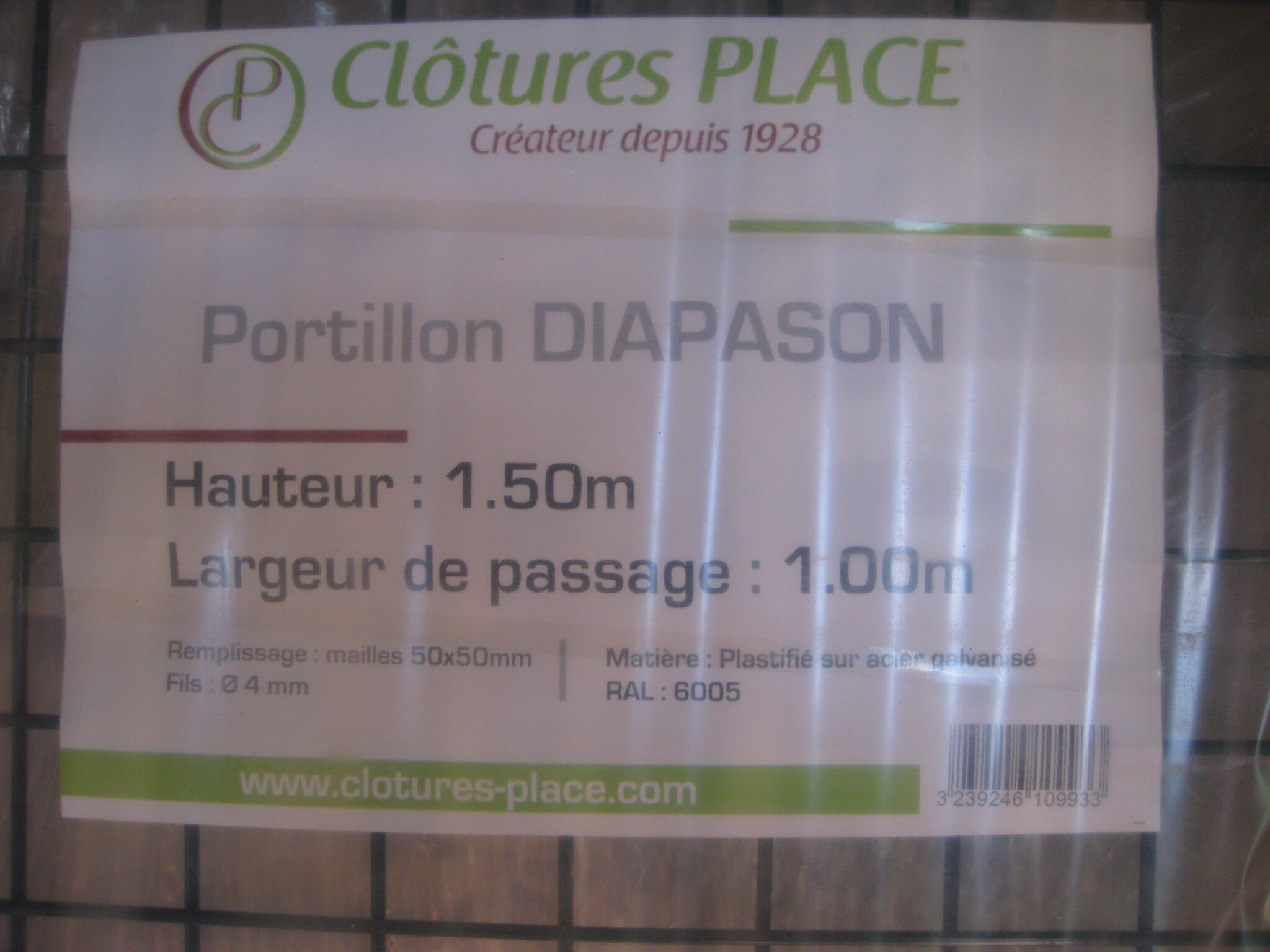 CLOTURE 6 PORTILLON 2