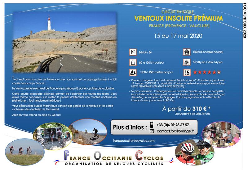 FOC VENTOUX PRÉMIUM 2020