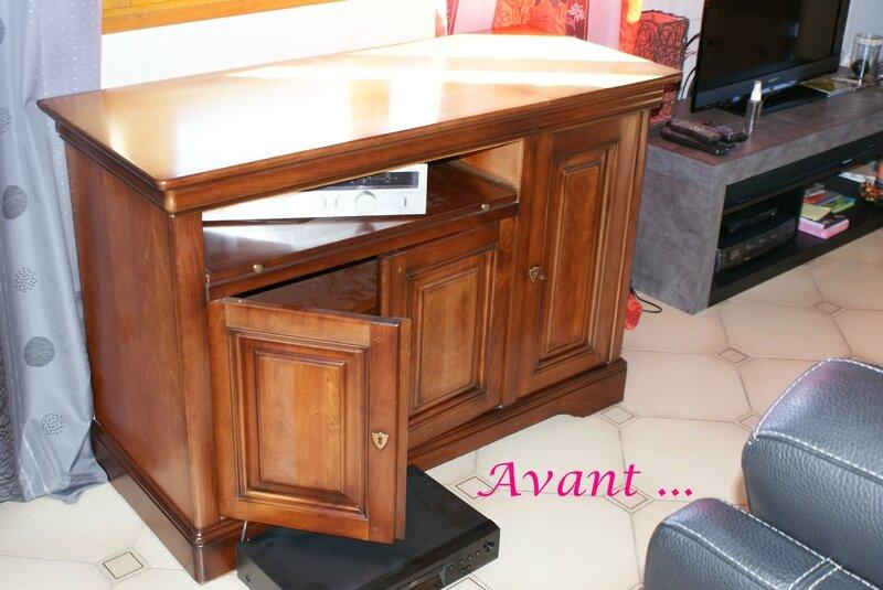 avant meuble TV