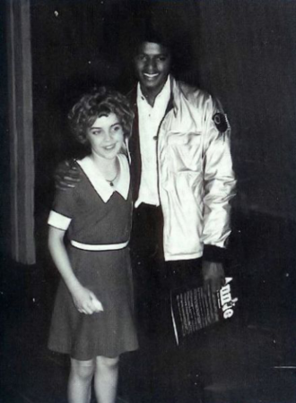 Michael and Andrea McArdle, who originated the role of Annie on Broadway