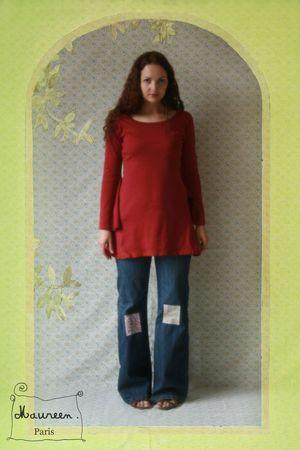 tunique rouge fairy Maureen (2)