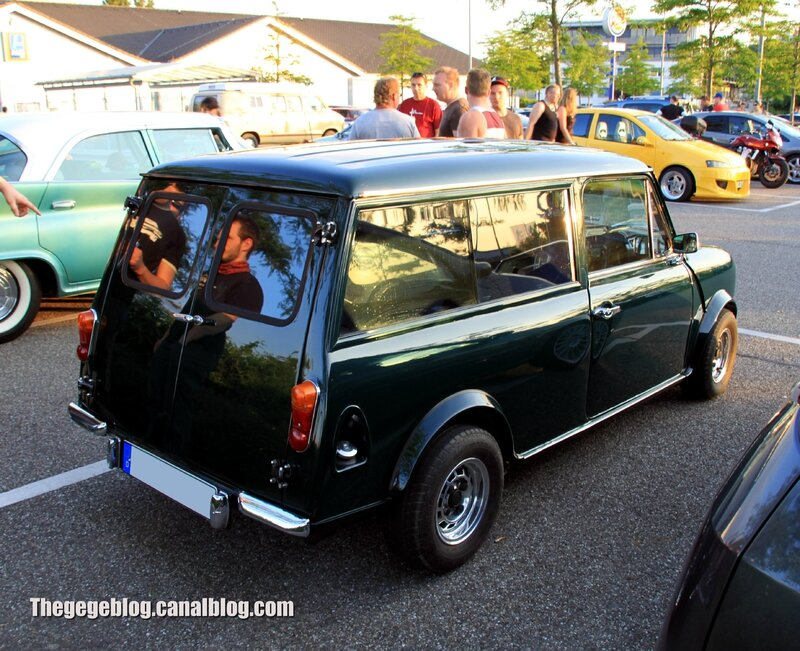 Austin mini clubman estate (Rencard Burger King juin 2013) 02
