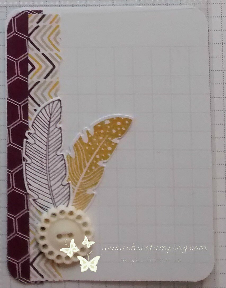 DIY card - serie washi & scrap papers 3