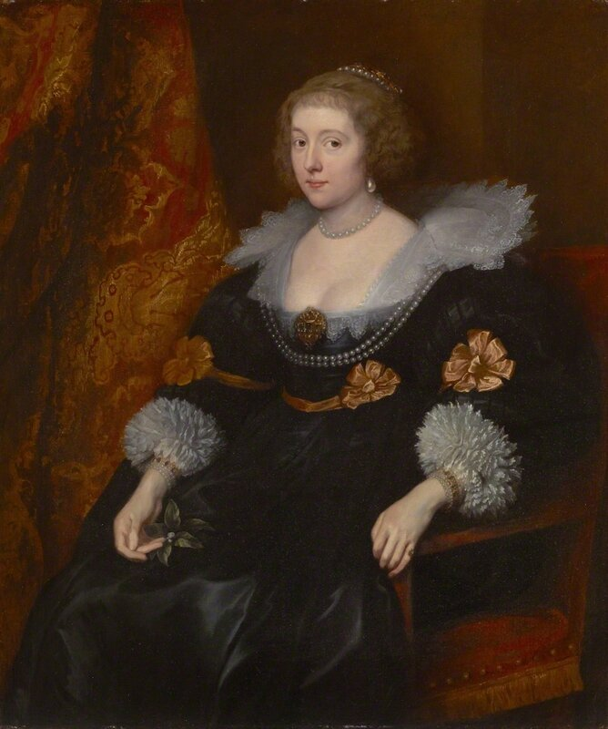 Anthony van Dyck (1599-1641), Portrait of Amalia von Solms-Braunfels (1602-75) 1629