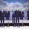 Nouveau design uniforme pour american airlines