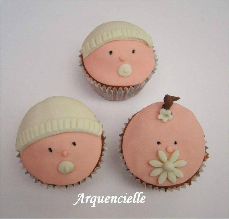 cupcakes bébés