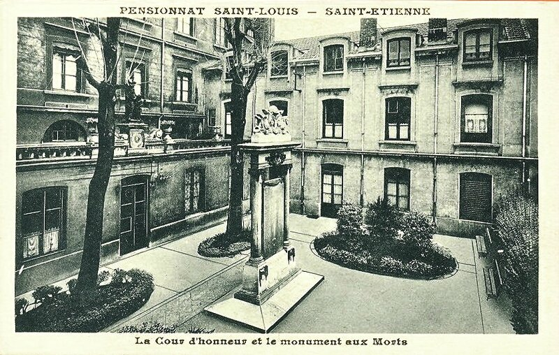 Saint-Étienne pensionnat Saint-Louis
