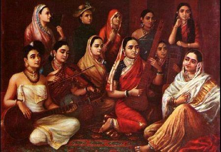 saris anciens