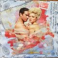 158~Mixed Media couple pour Isa