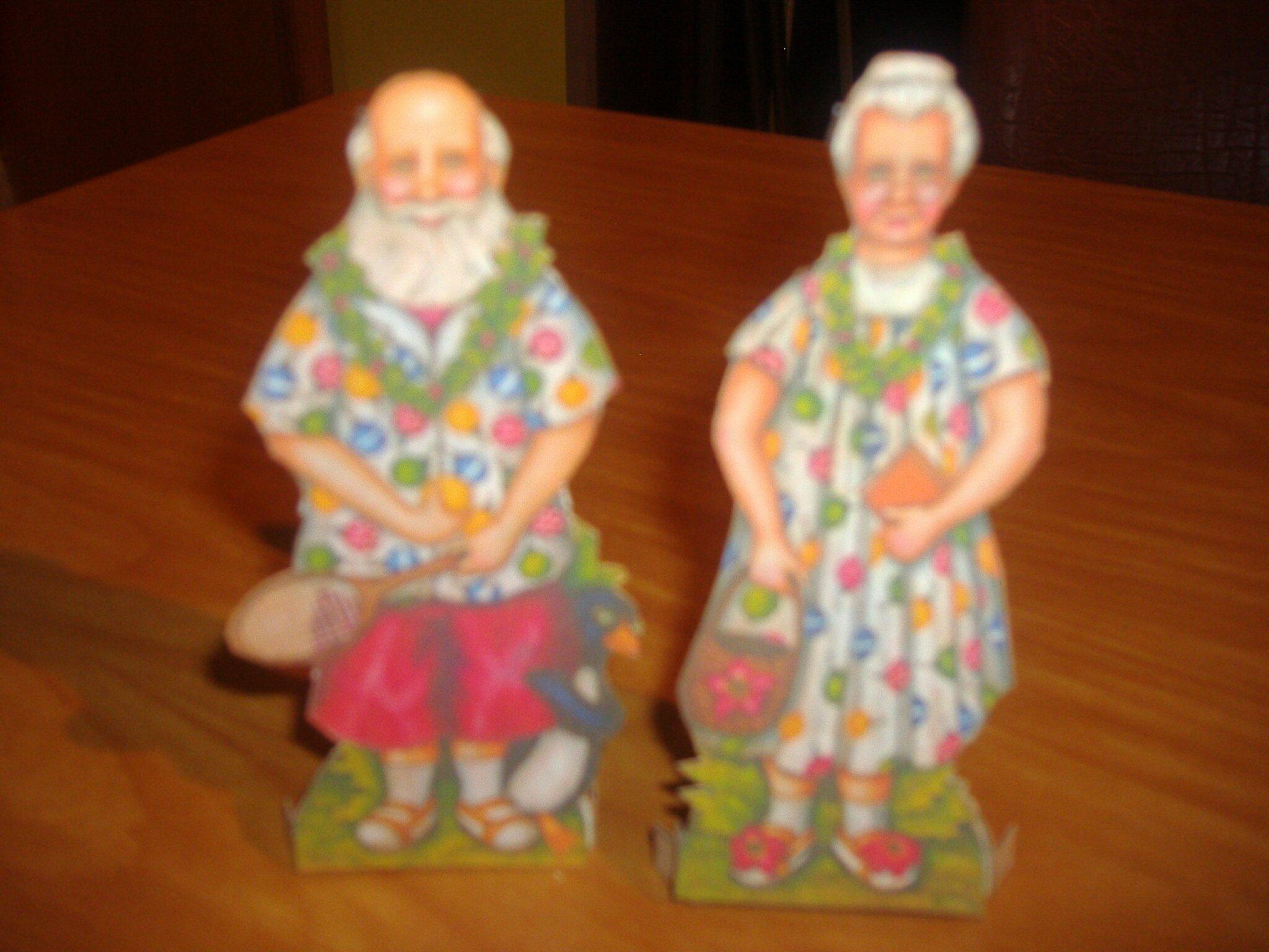 Père et mère Noël été