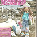 * Magazine Quilt Country n° 26
