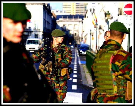 Armée Belge Bruxelles