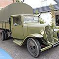 Citroën u23 plateau bâché militaire