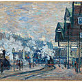 Claude monet's 'gare saint-lazare' to lead christie's impressionist and modern art evening sale