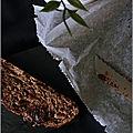Brioche tressée au chocolat