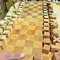 MINI SERIE PRODUCTION FORMATION ÉBÉNISTERIE jeux d'échecs école du Bauhaus