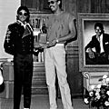 Michael jackson et tc thompkins d'epic records