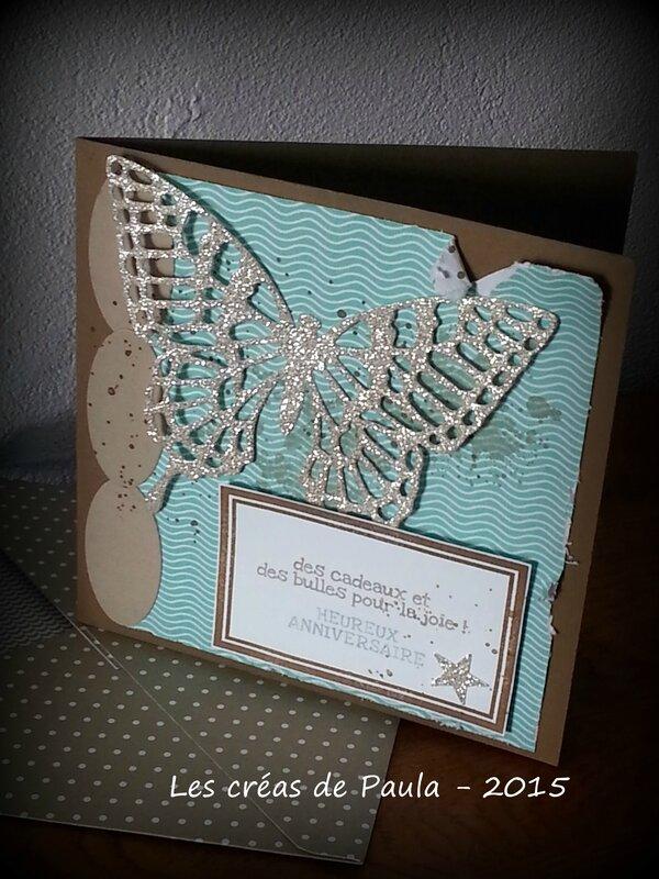 carte papillon anni