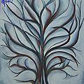 26 - L'arbre en gris