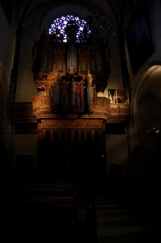 Les orgues de la Cathédrale Notre-Dame-et-Saint-Privat de Mende