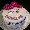 Gâteau cataleya